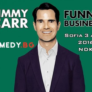 jimmy carr, sofia, bulgaria, comedy.bg, stand up